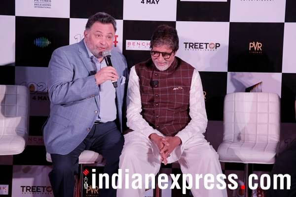 rishi kapoor speaks during 102 Not Out event