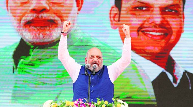 Amit Shah on Opposition: Snakes, dogs flee PM Modi flood