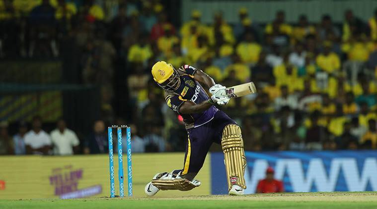 Andre Russell pic credit BCCI