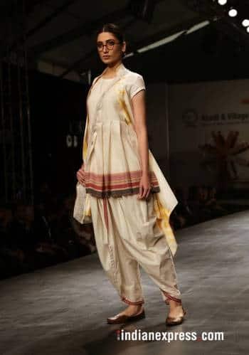 Khadi Transcending Boundaries Rohit Bal Anju Modi Payal Jain Showcase Latest Collections Lifestyle Gallery News The Indian Express