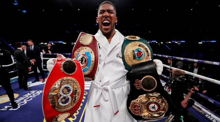 Anthony Joshua To Make Us Debut With Fight Against Jarrell Miller