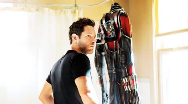 paul rudd as antman in the marvel movie