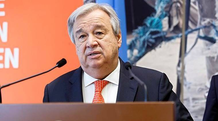 un ctbt, un chief antonio guterres, ctbt ratification, antonio guterres, Comprehensive Nuclear-Test-Ban Treaty, indian express world news, ctbt un chief