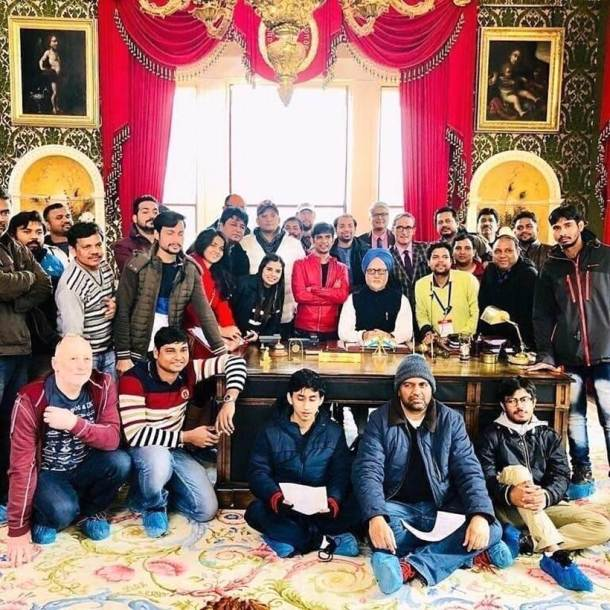 the accidental prime minister crew