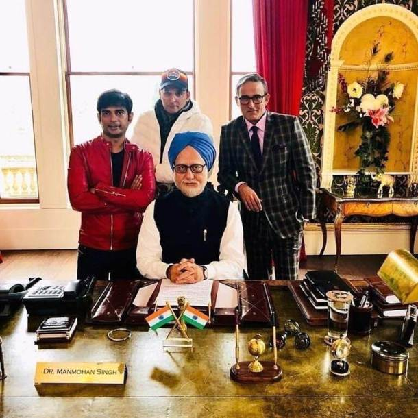 anupam kher wraps up the accidental prime minister