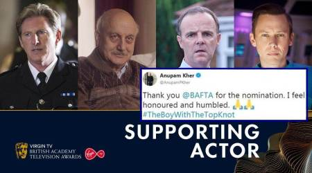 Twitterati cheer Anupam Kher's BAFTA nomination for 'The Boy with the Top Knot'
