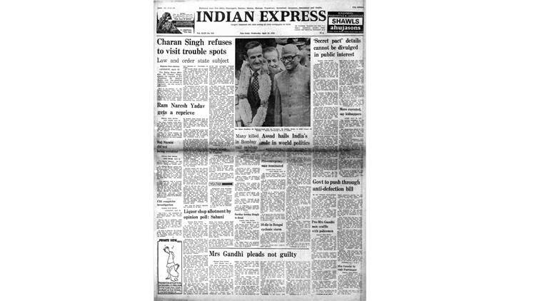 April 19, 1978, Forty Years Ago: Simla Talks