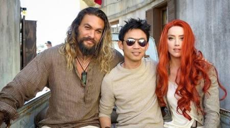 Jason Momoa, James Wan leave for Aquaman presstour
