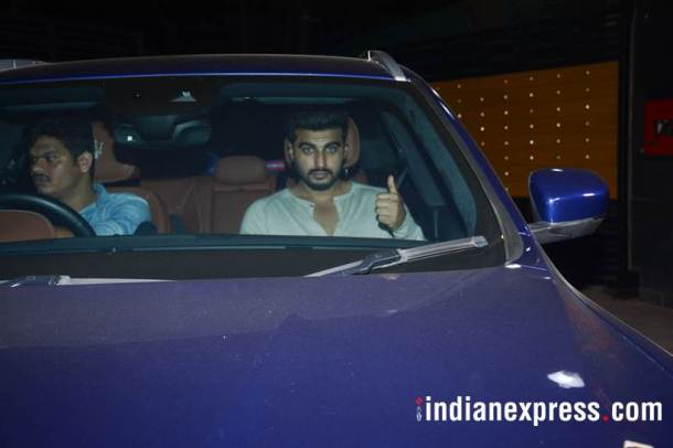 arjun kapoor at october screening
