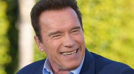 Arnold Schwarzenegger returns home after heart procedure