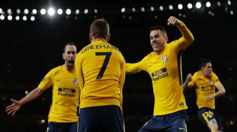 10-Man Atletico hold Arsenal