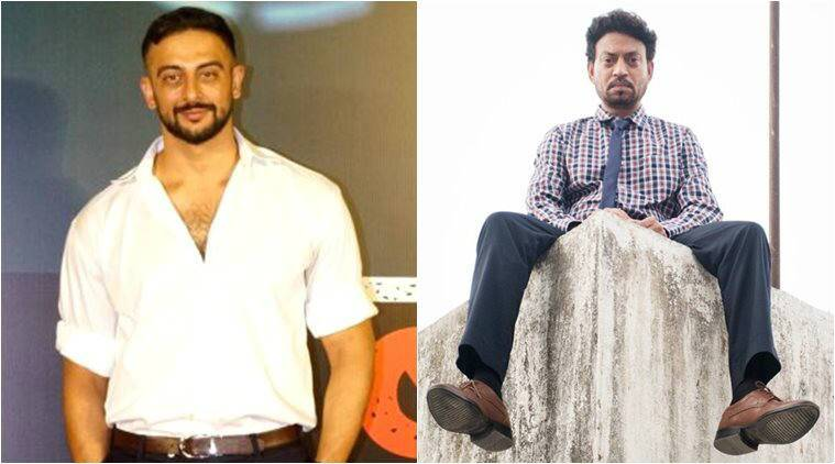 Arunoday Singh and Irrfan Khan photos