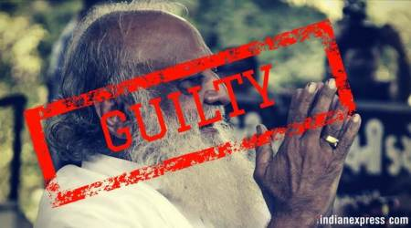 Asaram convicted for raping minor, sentenced to imprisonment tilldeath