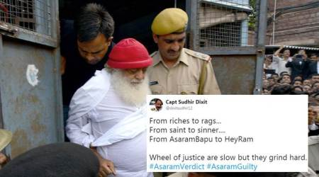 Asaram Bapu verdict: 'Godman' found guilty of rape, Twitterati hail judgment
