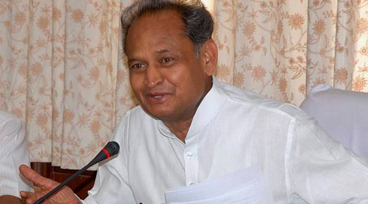 Some people shout 'Bharat Mata ki Jai' just for political gains: ashok Gehlot
