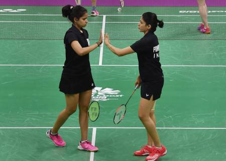 India continue to shine at mixed-team badminton event in Gold Coast.