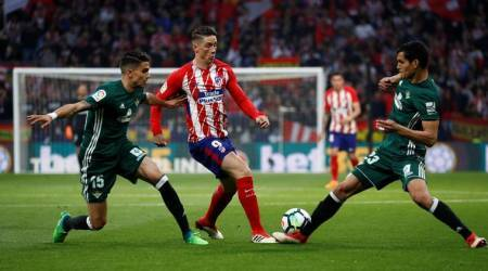 Before Arsenal game, Atletico Madrid held 0-0 by Real Betis
