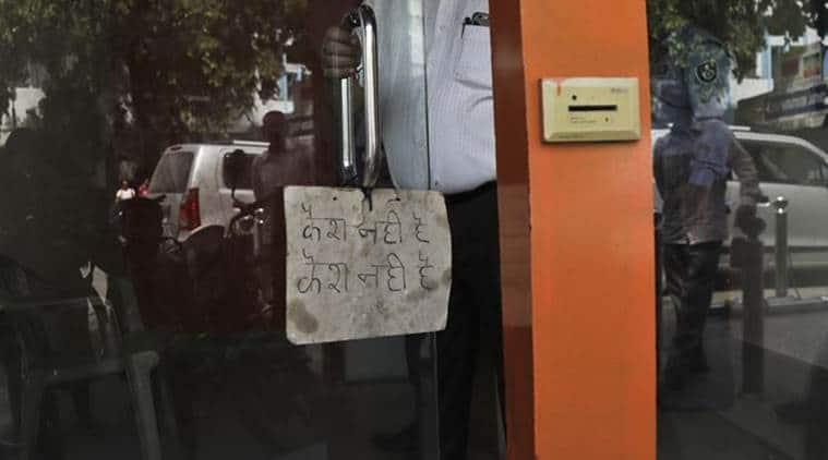 cash crunch in India