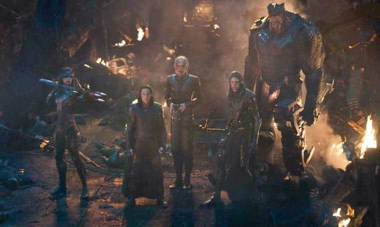 black order in avengers infinity war photos