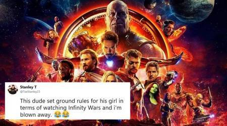 'You'll be hearing from my lawyer': Man sets bizarre rules for girlfriend before taking her to 'Avengers: Infinity War'