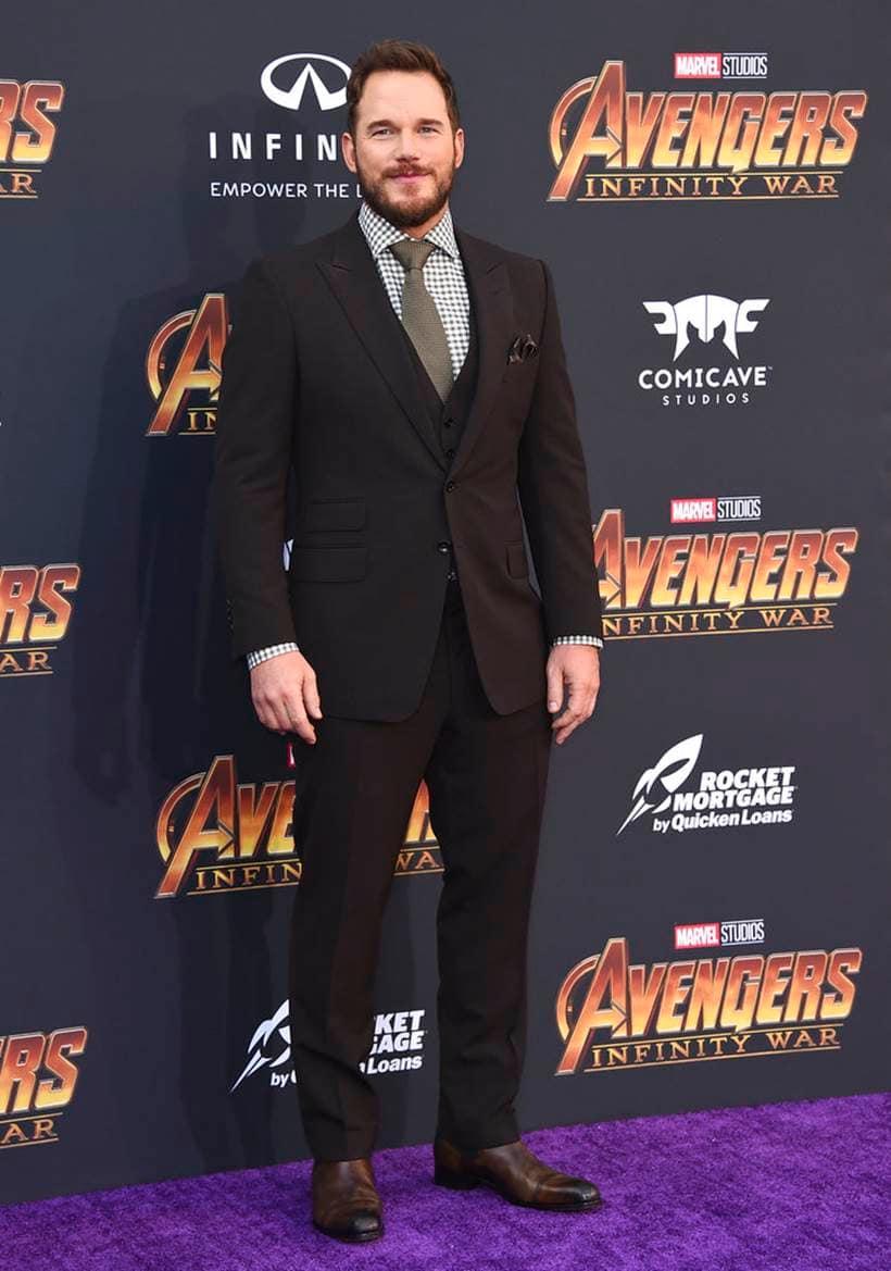 Chris Pratt avengers infinity war star lord