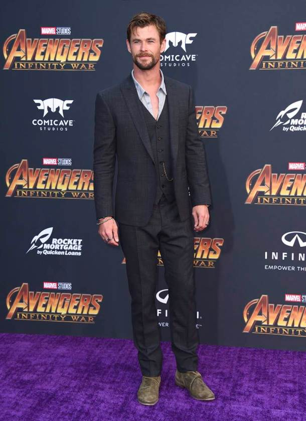 Chris Hemsworth avengers infinity war thor
