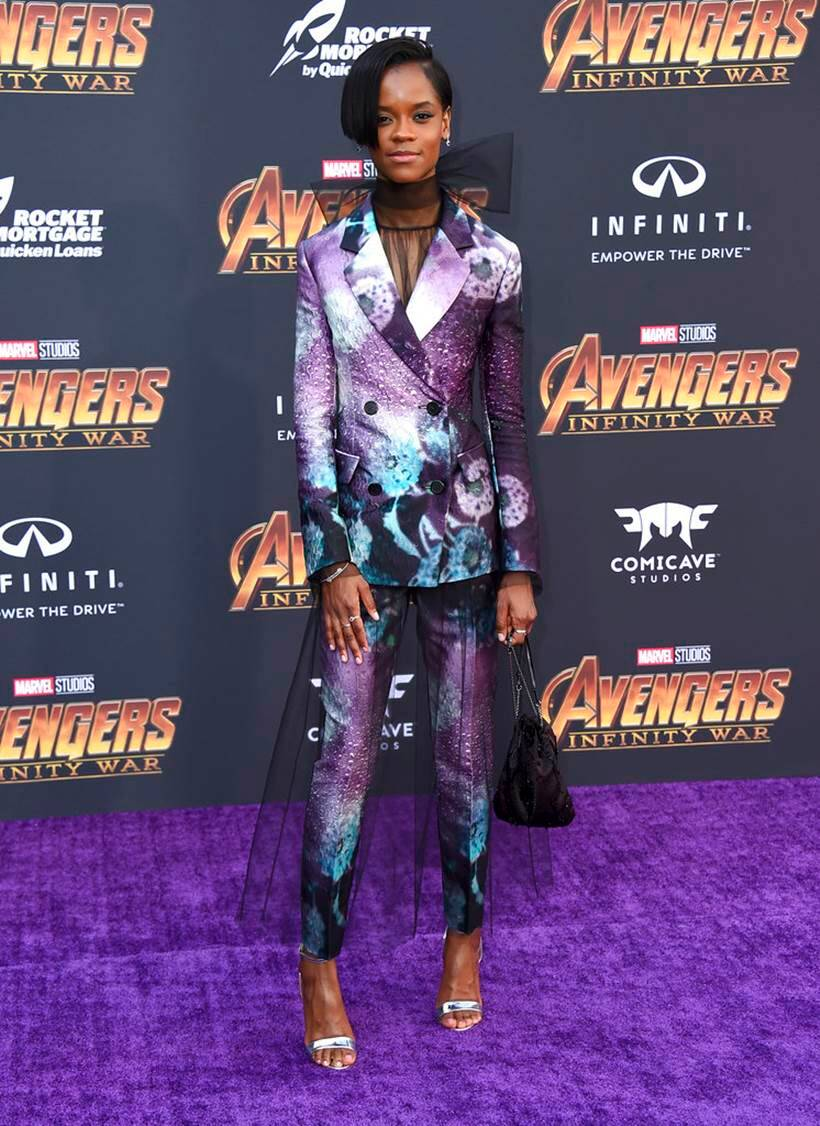 Letitia Wright avengers infinity war black panther