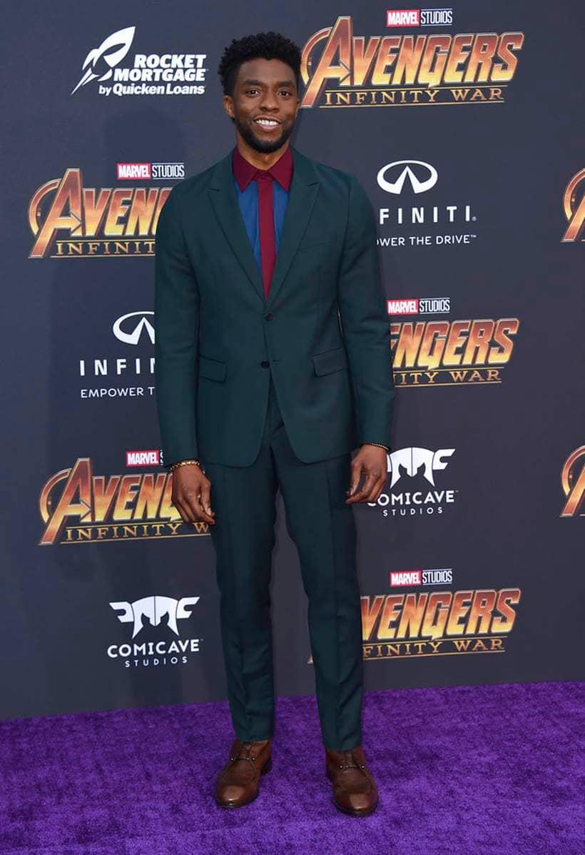 Chadwick Boseman avengers infinity war black panther