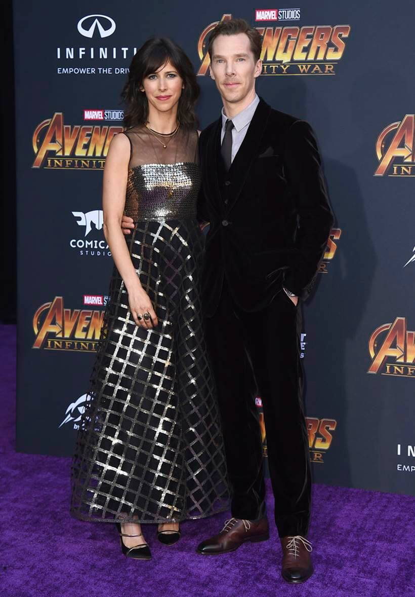Benedict Cumberbatch, Sophie Hunter avengers infinity war dr strange