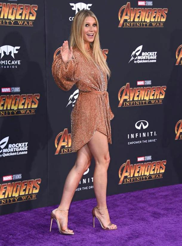 Gwyneth Paltrow avengers infinity war pepper potts