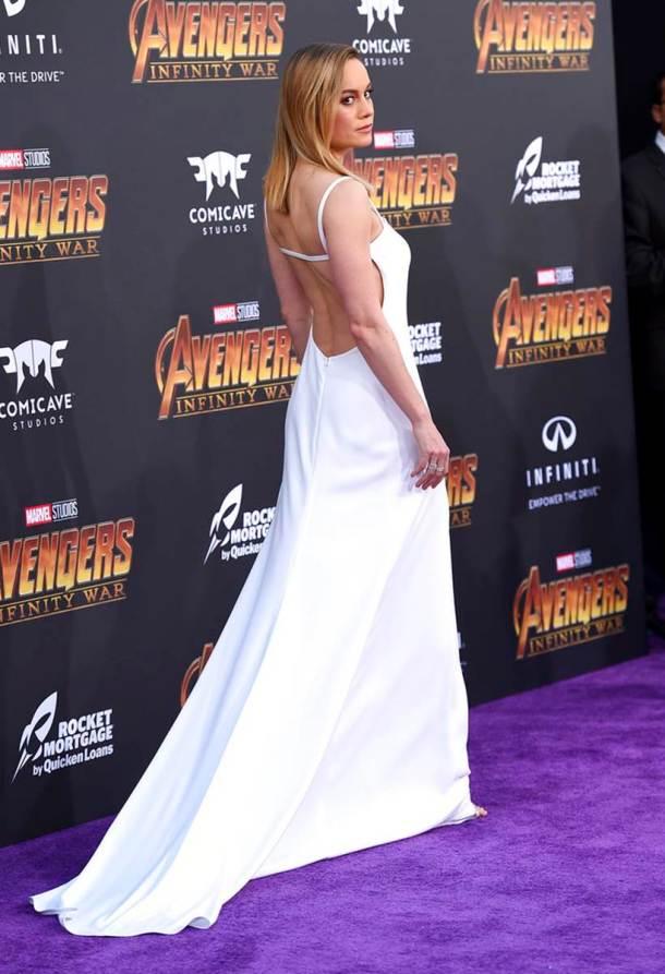 Brie Larson avengers infinity war captain marvel