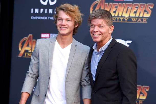 Rob Liefeld, Chase Liefeld avengers infinity war