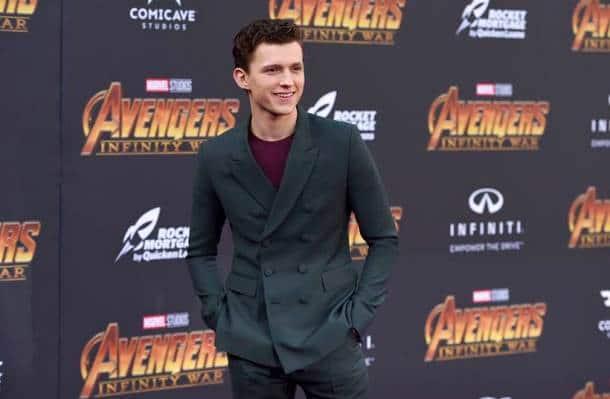 Tom Holland avengers infinity war spiderman