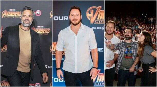 avengers infinity war promotion event