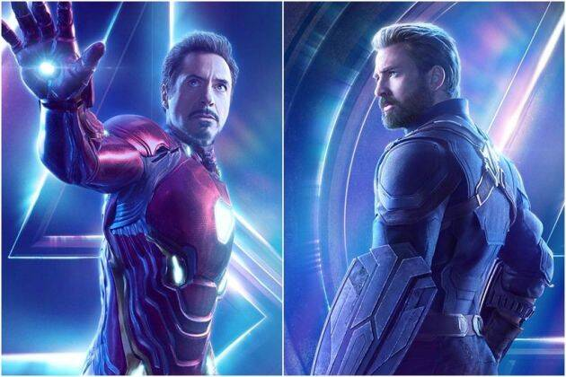 avengers infinty war character posters
