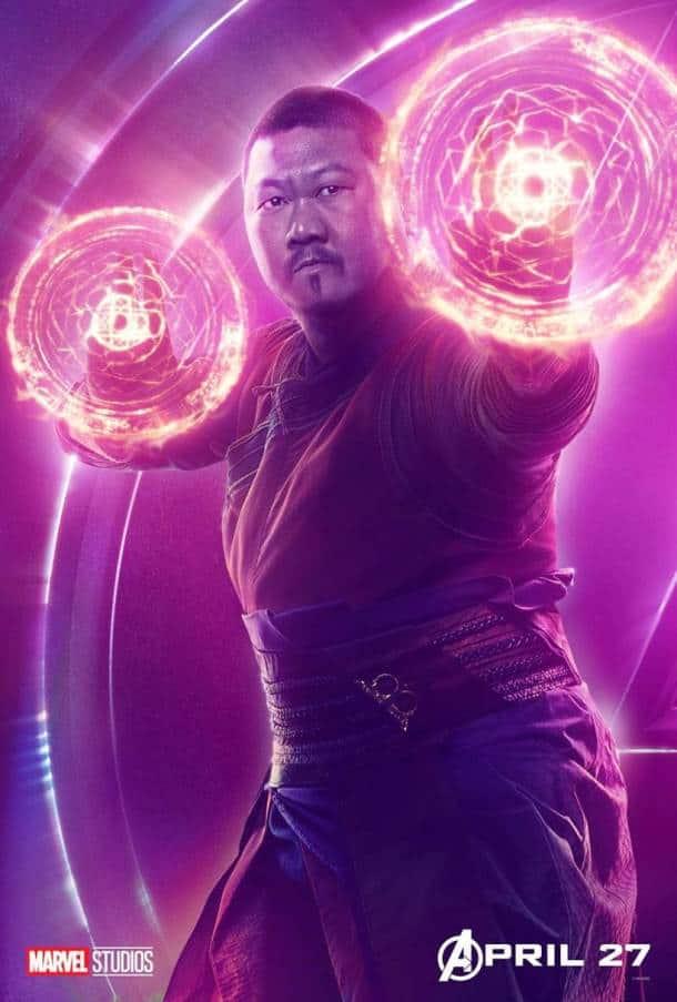 benedict wong as wong in avengers infinity war