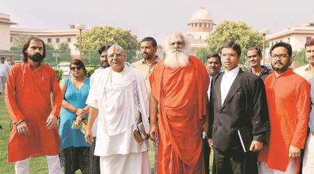 Treat Ayodhya title suit as property dispute, Supreme Courttold