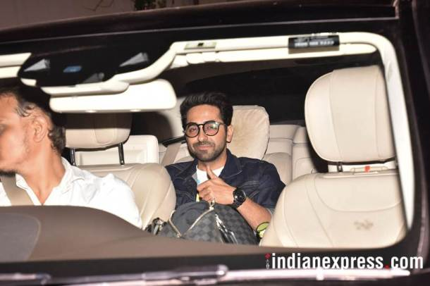 Ayushmann Khurrana at october screening