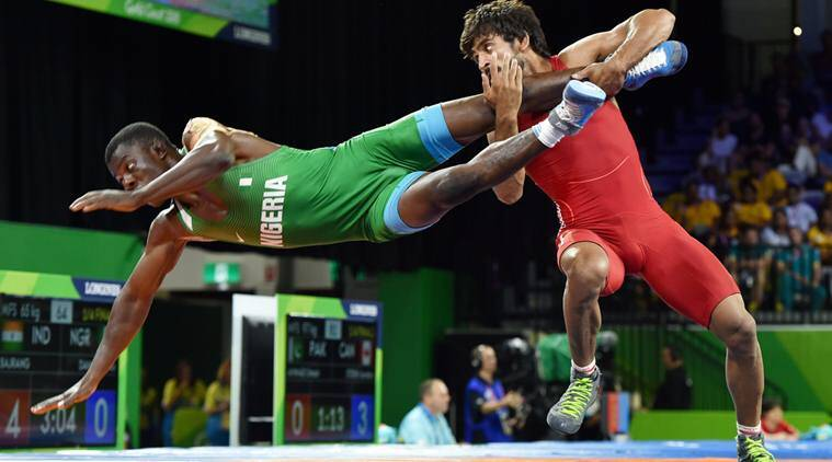 CWG 2018: Such was Bajrang Punia's dominance that he overpowered his opponents with remarkable ease to win all his bouts on technical superiority.