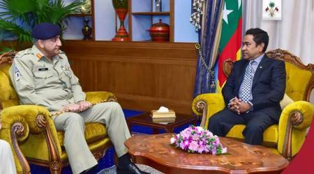 Pakistan army chief visits Maldives, underlines need for strengthening ties between 'brotherly Muslimnations'