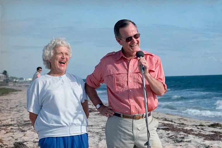 Barbara Bush, former US first lady, dies aged 92