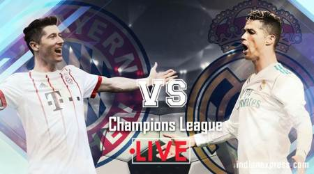 Bayern Munich vs Real Madrid Live score Live streaming Champions League: Bayern 1-1 Real at half time
