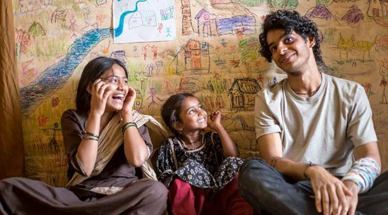Ishaan Khatter and Malavika Mohanan star in Beyond the Clouds