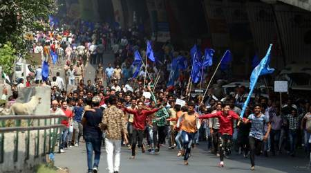 Dalit protests: 5,000 booked, 32 arrested for violence and arson inGhaziabad