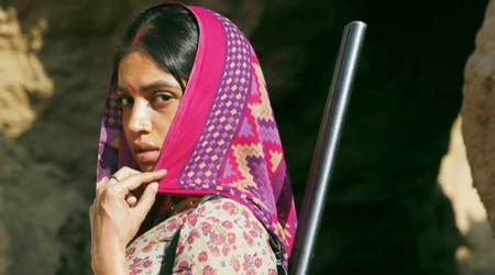 Bhumi Pednekar looks menacing and fierce in dacoit drama Sonchiriya