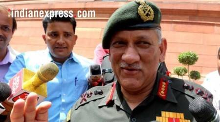 Radicalised youths will soon realise that guns not a solution, says General Bipin Rawat