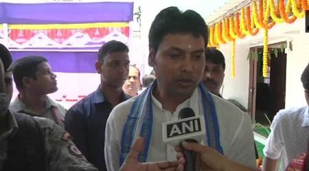 Tripura CM Biplab Deb says narrow-minded people won't believe internet existed since Mahabharata era