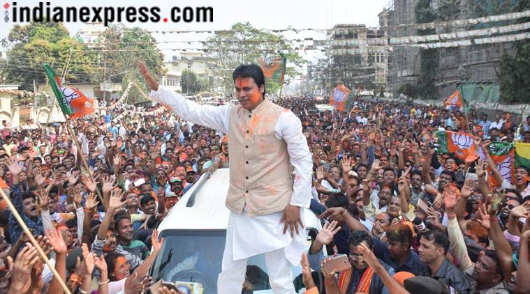 Nails of those criticising my govt should be chopped off: Tripura CM Biplab Deb