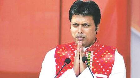 Tripura CM Biplab Deb turns to space feat to back Internet in Mahabharata remark