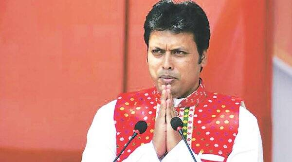 biplab deb, tripura CM, tripura chief minister, citizenship bill, northeast states, north east, indian express